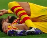 FC Barcelone Piqué devrait être absent entre 4 et 6 mois - Photo Capture d'écran Twitter Marca