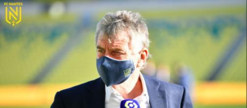 Christian Gourcuff se fait détruire sur les réseaux sociaux - Photo compte Twitter FC Nantes