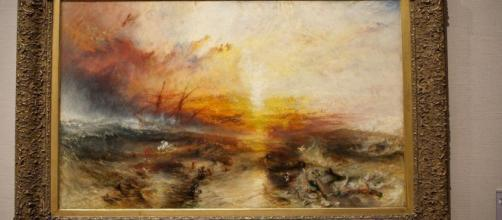 JMW Turner described his painting Slave Ship as 'an erotic fantasy.' [Image Source: SRP Austin Photography/Flickr]