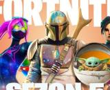Fortnite new leaks reveal The Mandalorian and Baby Yoda. [Credit: Farell / YouTube screenshot]