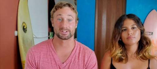 '90 Day Fiancé': Evelin hinted at split and Corey due to his alcohol addiction. [Image Source: TLC/ YouTube]
