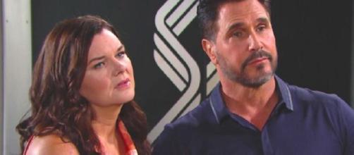 Beautiful, trama 25 novembre: Bill e Katie convincono Wyatt a non perdonare Flo.