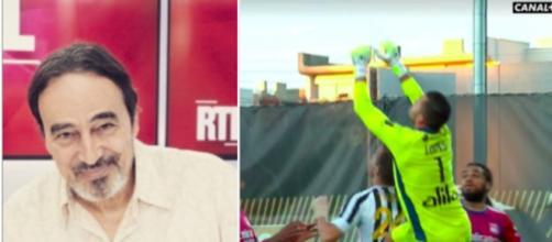 Didier Roustan dézingue l'attitude d'Anthony Lopes - Photo montage