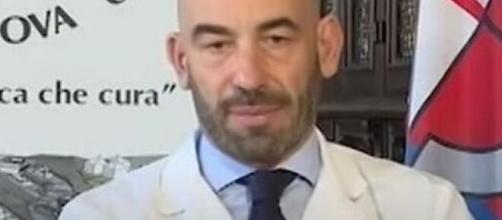 Domenica In, Matteo Bassetti in lacrime per la morte della madre: 'Ci guarda da lassù'.