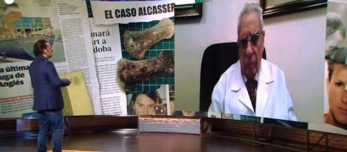 El plató de 'Cuarto Milenio', donde se transmitió un reportaje al doctor Frontela, donde hace referencia al caso Alcàsser