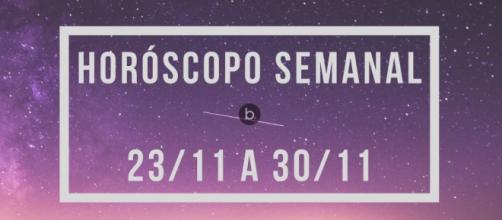 Horóscopo da semana: previsões dos signos entre 23/11 e 30/11. (Arquivo Blasting News)