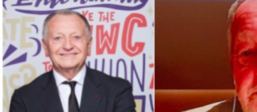 Jean-Michel Aulas inquiète les fans de l'OL pour son apparence. (Montage Photo) ok