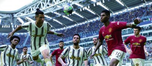 Juventus e Manchester United estão entre os times licenciados no PES 2021. (Arquivo Blsting News)