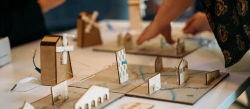 Kutì Kutì propose une pédagogie basée sur le savoir faire avec des ateliers éco-conçus en France, source : DR