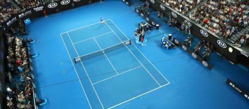 La Rod Laver Arena di Melbourne, sull'Australian Open al momento si valuta lo slittamento.