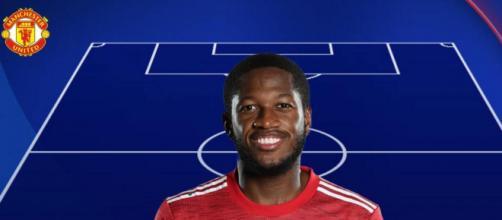 Nella foto Fred, centrocampista del Manchester United.
