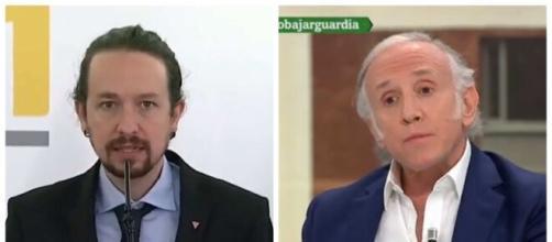 Pablo Iglesias y Eduardo Inda en imagen