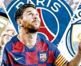 L'Inter sfida il City per Lionel Messi.