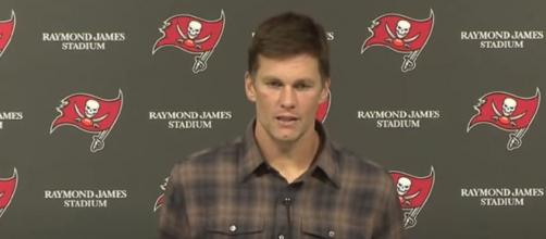 Brady tossed for 216 yards and two touchdowns vs Rams (Image Credit: Tampa Bay Buccaneers/YouTube)