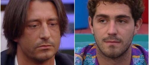GF Vip: Francesco Oppini e Tommaso Zorzi