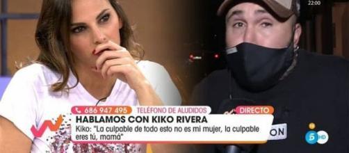 Kiko Rivera apoya a su mujer, mientras da una advertencia a su madre