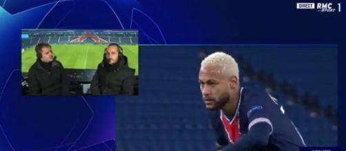 LDC : 'Le PSG régresse', le coup de gueule de Jérôme Rothen en direct après la rencontre. Capture d'écran