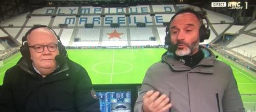 Eric Di Meco détruit les joueurs de l'OM après leur prestation - Photo capture d'écran