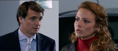 Jerônimo acaba com as esperanças de Renata. (Televisa)