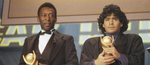 Pelé lamenta morte de Maradona (Arquivo Blasting News)