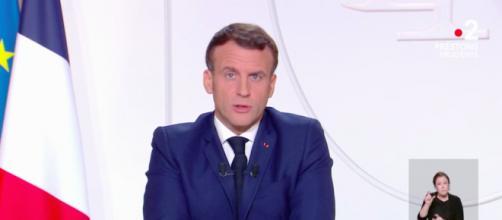Que retenir de la prise de parole d'Emmanuel Macron - capture d'écran France 2