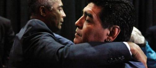Romário deixou homenagem para o craque. (Arquivo Blasting News)