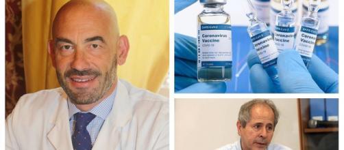 Vaccino, Matteo Bassetti critica Andrea Crisanti.