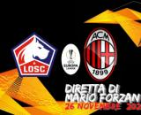 Europa League Lille Milan girone di ritorno alle ore 18.55