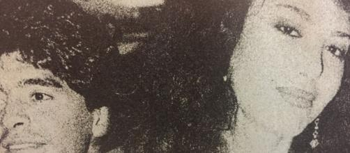 Carmen Di Pietro ricorda Maradona con un fotomontaggio, un utente: 'Sei senza vergogna'.