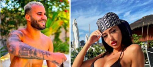 Jesé participe à une pool party et créé la polémique - photo montage capture d'écran instagram