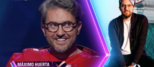Máximo Huerta se quita la máscara en la cuarta gala de 'Mask Singer: Adivina quién canta'