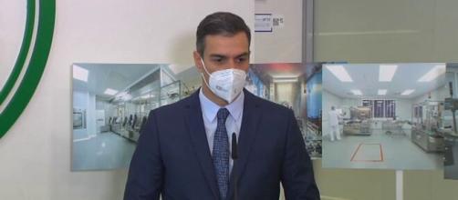 Pedro Sánchez afirma que estamo en el principio del final en el virus