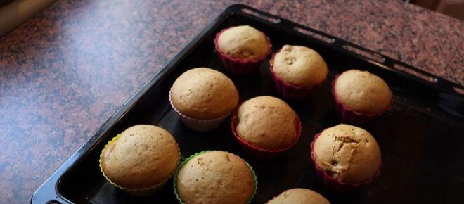 Apple sour cream muffins recipe