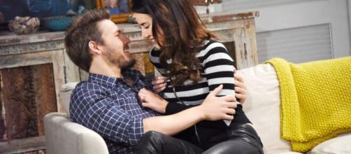 Beautiful, spoiler americani: Liam tradirà Hope con la sua ex Steffy.