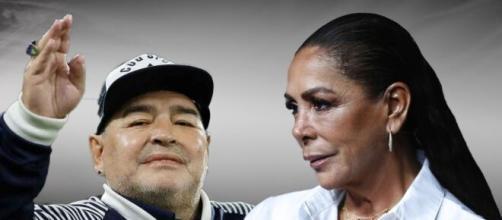 El día que Diego Armando Maradona pidió un vis a vis con Isabel Pantoja en la cárcel
