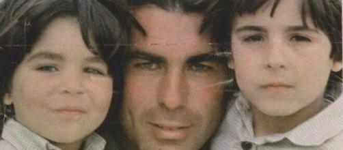 Paquirri y sus hijos Fran y Cayetano