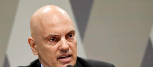 Alexandre de Moraes é o relator do inquérito em que Moro está contra Bolsonaro. (Arquivo Blasting News)