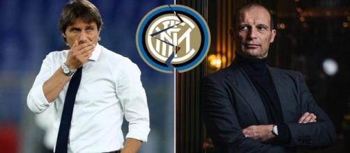Allegri pronto a subentrare a Conte all'Inter.