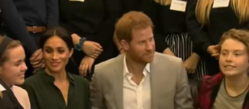 Thanksgiving abroad for Prince Harry and Meghan Markle. [©Access YouTube video]
