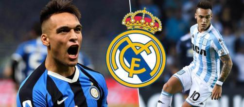 Inter, il Real Madrid pensa a Lautaro Martinez.