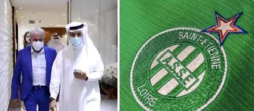 L'AS Saint-Étienne discute avec Dubai, qui cherche des opportunités d'investissement. Montage Photo