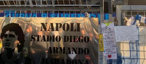 Lo stadio del Napoli verrà rinominato 'Stadio Diego Armando Maradona'.