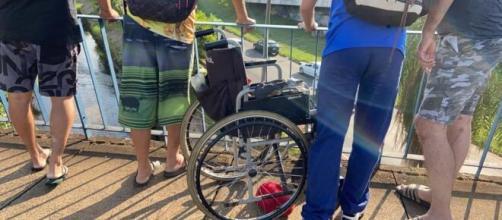 Cadeirante morre ao ser jogado de viaduto em Bauru (SP) (arquivo Blasting News0