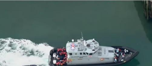 UK and France wants to 'reaffirmed their commitment to make this route unviable' [©FRANCE 24 English YouTube video]