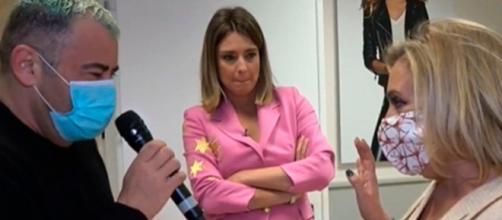 El inesperado reencuentro entre Jorge Javier Vázquez y Carmen Borrego tras el escándalo Campos.