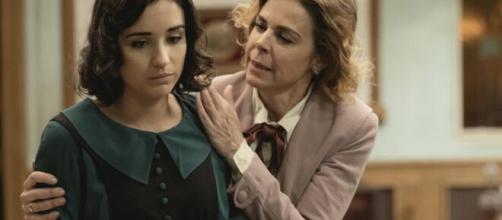Il segreto, trame Spagna: Rosa e donna Begona vengono rinchiuse in manicomio.
