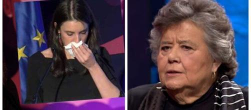 Irene Montero y Cristina Almeida.