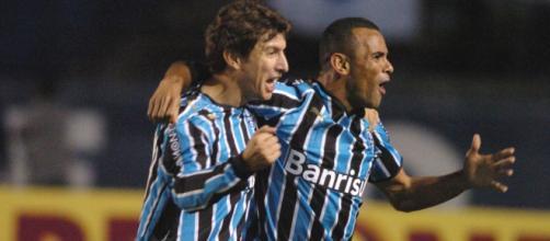 O Grêmio de 2008 foi o grande cavalo paraguaio da história do Brasileirão. (Arquivo Blasting News)