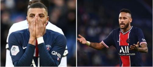 PSG : Neymar recadre Kylian Mbappé et met la pression à ses coéquipiers. ©Instagram/k.mbappe/neymarjr