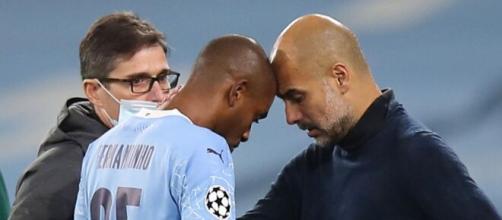 Queridinho de Guardiola, Fernandinho deve deixar o Manchester City. (Arquivo Blasting News)